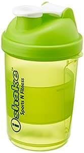IShake 020 Smart One Storage Bottle, 500 ml , (Green/White)
