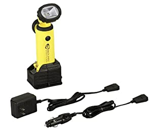 Streamlight 90627 Knucklehead Work Light with Charger/Holder and 120V AC & DC Cords, Yellow
