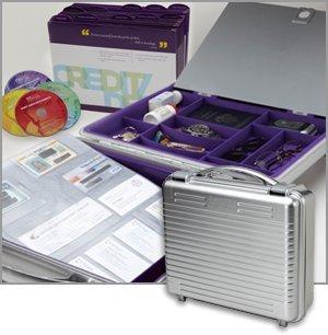 Suze Orman Protection Portfolio with Silver Durable Water Resistant Case (Protection Portfolio compare prices)