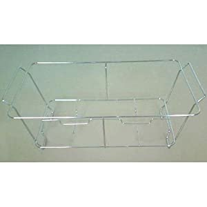 Wire Chafer Frame / Chafing Dish Stand, Holds Full-Size Water Pan