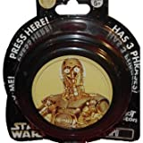 Disney Star Wars C3PO Hot Button
