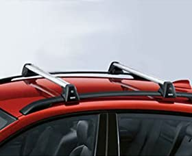 BMW X5 E70 Genuine Factory OEM 82710404320 Profile Roof Rack Cross Bars 2007 - 2012