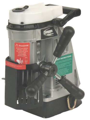 Jancy Magforce Portable Magnetic-Base Drill, 120V, 10.2 Amp Motor, 1-5/8