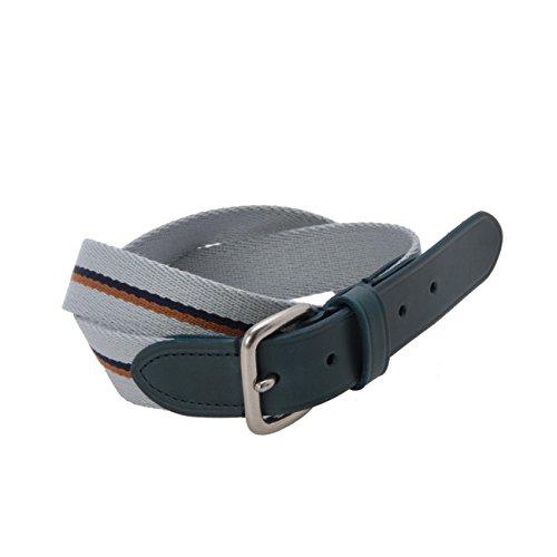 (ラギッドファクトリー)RUGGED FACTORY レザー&テープベルト ブルー系(092) 01(S)