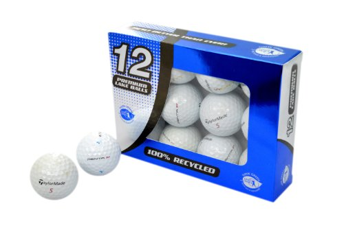 Second Chance Golfbälle 12 Taylormade Penta Lake B-Qualität, weiß, PRA-12-TM-PEN-B