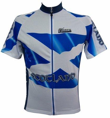 Scotland Cycling Scotland Flag Cycling Jersey