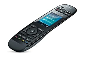 Logitech Harmony Ultimate Remote with Customizable Touch Screen and Closed Cabinet RF Control - Black (915-000201) (Older Model)