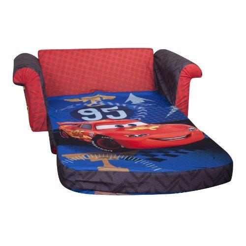 Marshmallow Children's Furniture – 2 in 1 Flip Open Sofa – Disney Cars 2 image