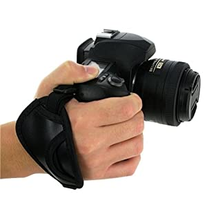 eForCity Camera Hand Grip Strap Compatible with Canon Rebel T1i/XS/XSi/Xti