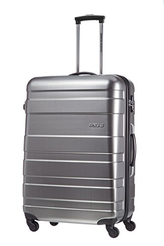 american-tourister-koffer-pasadena-spinner-l-77-cm-94-liters-silber-check-black-silber-53196-2601