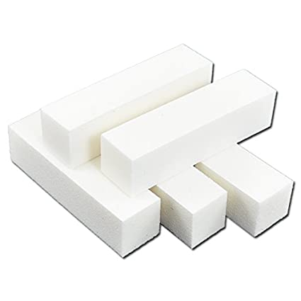 Beauties-Factory-5-Pcs-White-Color-Buffer-Sanding-Block-Nail-Art-Files