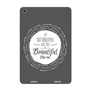 Garmor Designer Plastic Back Cover For Xiaomi MiPad