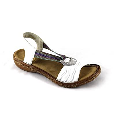 rieker regina 62863 80 damen sandalen fashion sandalen weiss weiss rainbow 80 eu 36. Black Bedroom Furniture Sets. Home Design Ideas