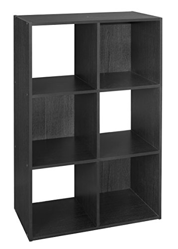 ClosetMaid 1574 Cubeicals 6 Cube Organizer, Black (Cube Storage Display compare prices)