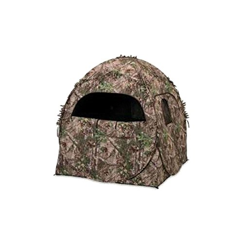 ameristep-1rx2s010-doghouse-spring-steel-ground-hunting-blind-realtree-xtra-camo