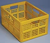 Really Useful Boxes 32L Folding Crate (Yellow)