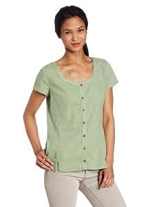 Royal Robbins Women's Cool Mesh Short Sleeve Shirt, Agave, X-Small