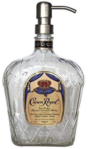crown-royal-liquor-bottle-repurposed-soap-or-lotion-dispenser