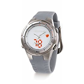 Sportline 775 Women's Analog Strapless Heart Rate Monitor Watch