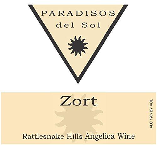 "2011 Paradisos Del Sol ""Zort"" Rattlesnake Hills Port Of Zin 375 Ml"