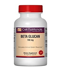 Beta Glucan (Yeast-Based), 700mg, 60 Veg Capsules