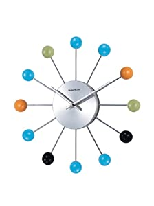 Amazon Com Telechron Atomic Ball Wall Clock Multi