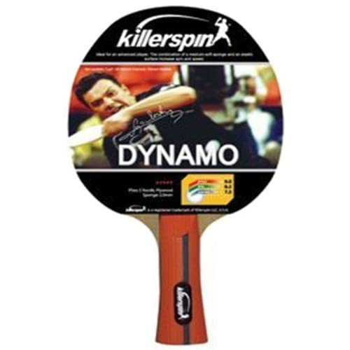 Killerspin Dynamo Table Tennis Racket ORANGE HANDLE 4 HANDLE