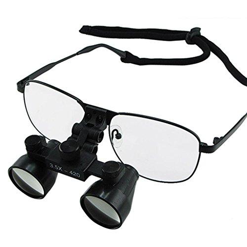 Generic 3.5X Dental Surgical Binocular Loupes Titanium Frame