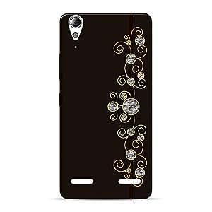 Mobile Back Cover For Lenovo A6000 (Printed Designer Case)