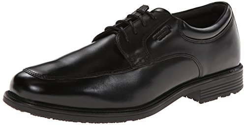 Rockport Men's Waterproof Lead The Pack Apron-Toe Oxford