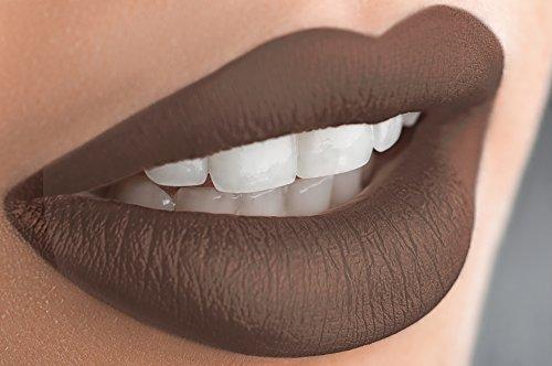 Mynena Matte Liquid Lipstick Long Lasting - Jessy (Chocolate Lipstick compare prices)