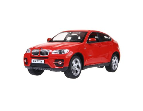 RASTAR 31400 1:14 6 Channel Remote Control BMW X6 RC Car Simulation Model with Light (Red) + Worldwide free shiping