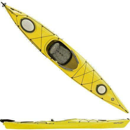 Buy Best Perception Carolina 14 0 Kayak w/ Rudder Yellow, 14