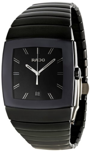 Rado Sintra XL Black Ceramic Black Dial Mens Watch R13765162