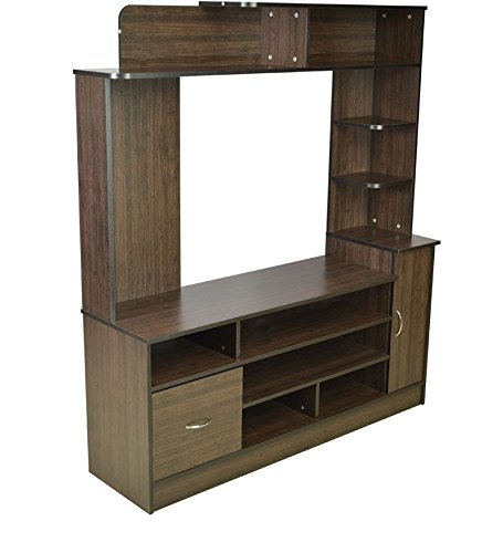 Buy Hometown Payton Wall Unit (Wenge) on Amazon | PaisaWapas.com