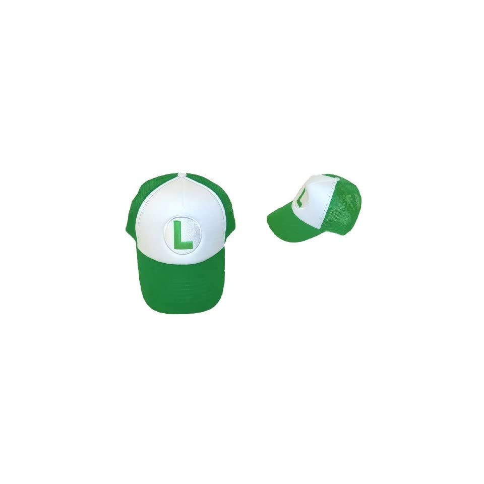 Trucker Hat   Nintendo   Super Mario Luigi Green