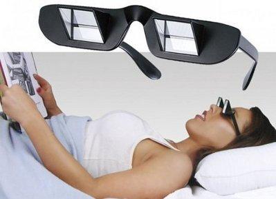 Prism Glasses, Prism Eye Glasses or Bed Prism Spectacles