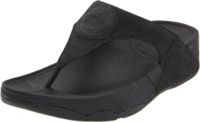 Fitflop Women's Walkstar 3 Nubuk Sandal,Black,8 M US