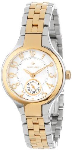 Philip Stein Women's 44TG-FMOP-SS5TG Two-Tone Bracelet Watch