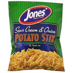 Jones Sour Cream & Onion Potato Stix (041368015329)