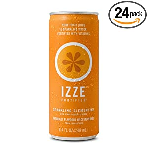 Amazon - 24-Pack  IZZE Fortified Sparkling Juice - $14.51