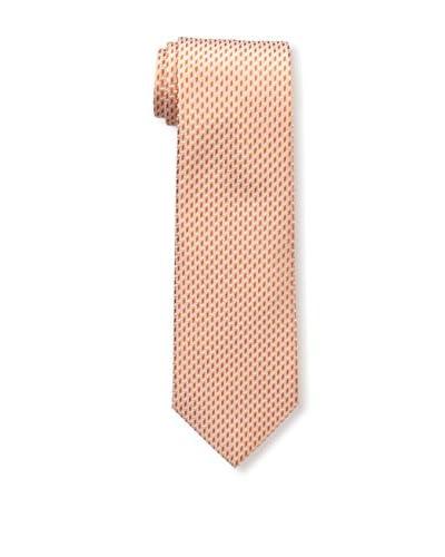 Isaia Men's 7-Fold Silk Tie, Orange