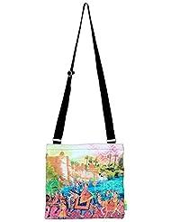 Eco Corner Women's Sling Bag (Multi-Coloured) (2933)