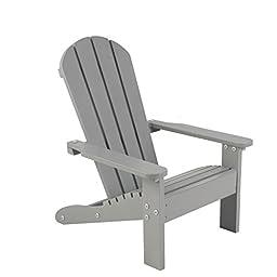 Adirondack Chair - Gray