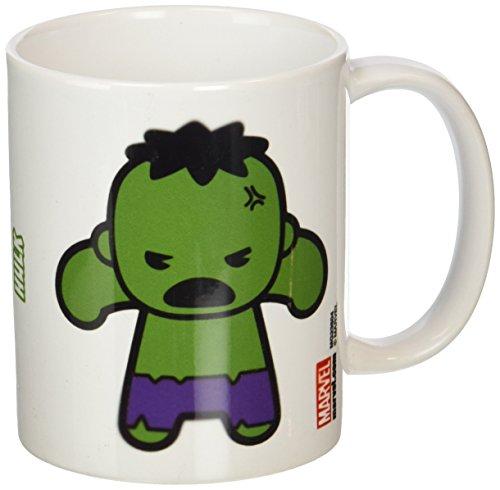 """Marvel-Tazza in ceramica, soggetto """"Hulk"""", multicolore"""