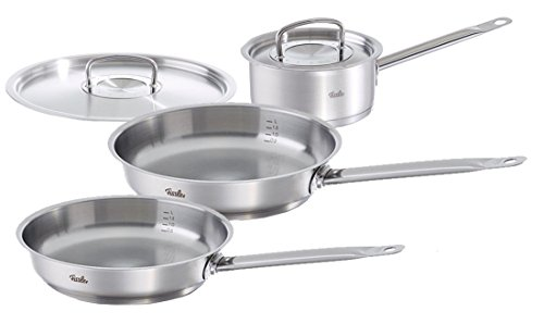 Fissler 5PC Original Profi Cookware Set, Various, Silver