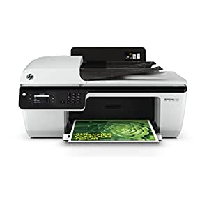 HP Officejet 2620 All-in-One Multifunktionsgerät (Scanner, Kopierer, Drucker, Fax, USB 2.0) weiß/schwarz