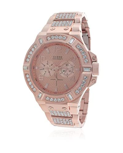 Guess Reloj de cuarzo Woman Guess W0292G2 Oro Rosa 44 mm