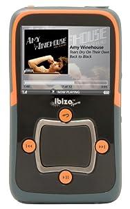 Haier ibiza Rhapsody Sport 8 GB Video MP3 Player with Wi-Fi (Orange)