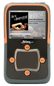 Haier ibiza Rhapsody Sport 8 GB Video MP3 Player with Wi-Fi (Orange)